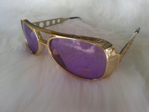 Elvis Gold Purple