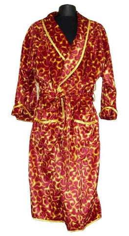Flame-Red Robe