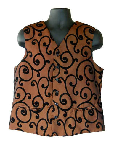 Bronze Flocking Vest