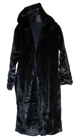 Faux-Black Mink
