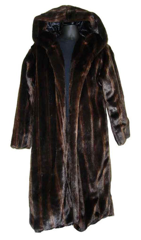 Faux-Brown Mink