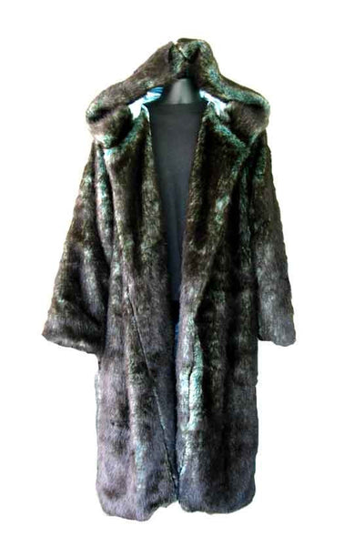 Fur, Brown Green Undertone