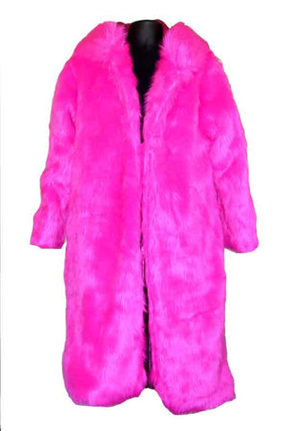 Fur-Hot Pink Pimp Jacket