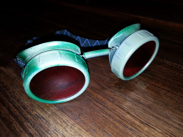 Camo Goggles with Red Lens