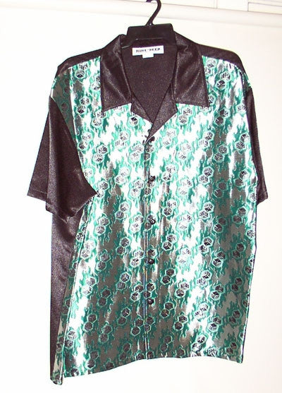 Dice-Green Contrast Shirt