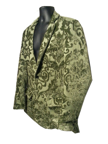 Suit - Green Paisley Hand Made Suit