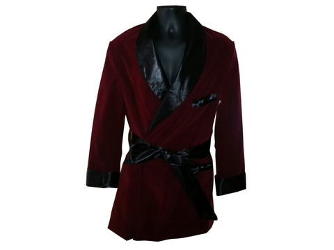 Burgundy Velvet (The Classic) Hef