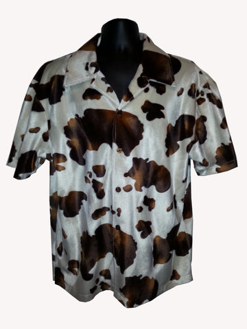 How Now Brown Cow Fur Shirt