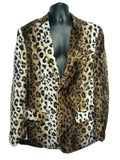 Suit - Leopard Fur