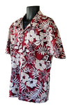 Maroon Hawaiian Shirt