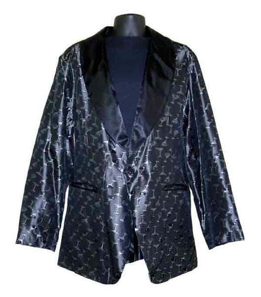 Martini-Silver Smoking Jacket