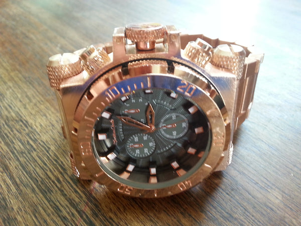 Watch - Diver Style - Copper with Copper face.
