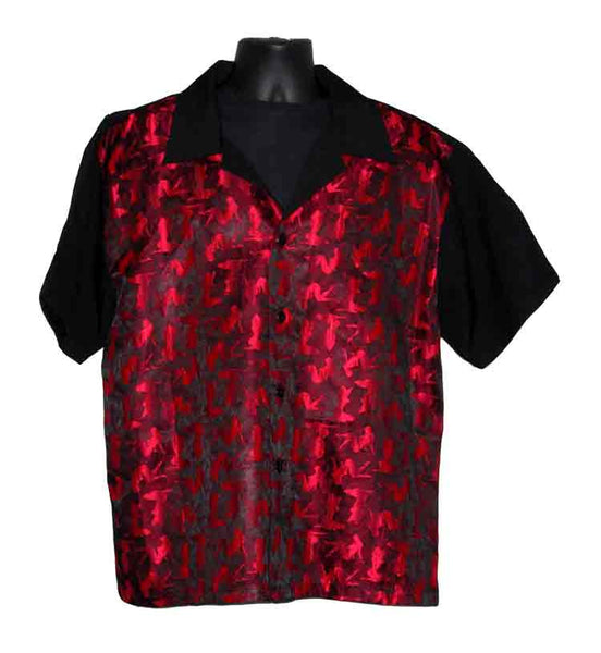 Mudflap-Red Contrast Shirt