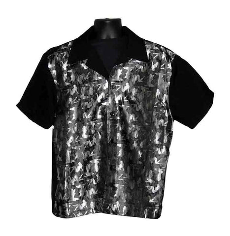 Mudflap-Silver Contrast Shirt