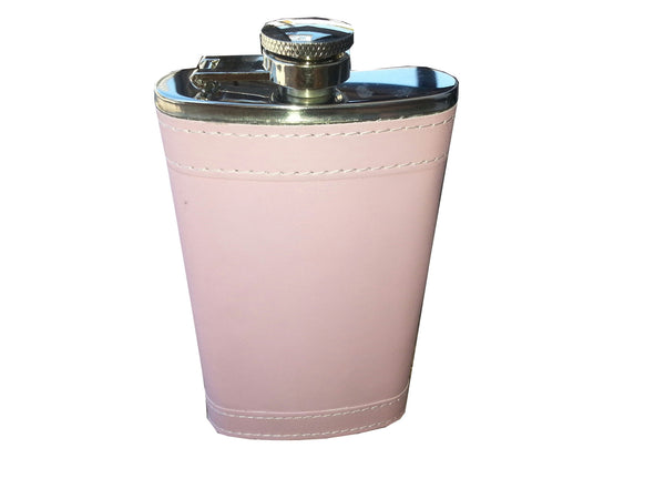 6 oz Pink wrap Flask