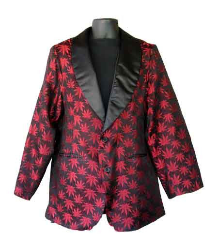 Pot-Red Smoking Jacket