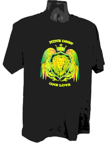 T-shirt Black One Love