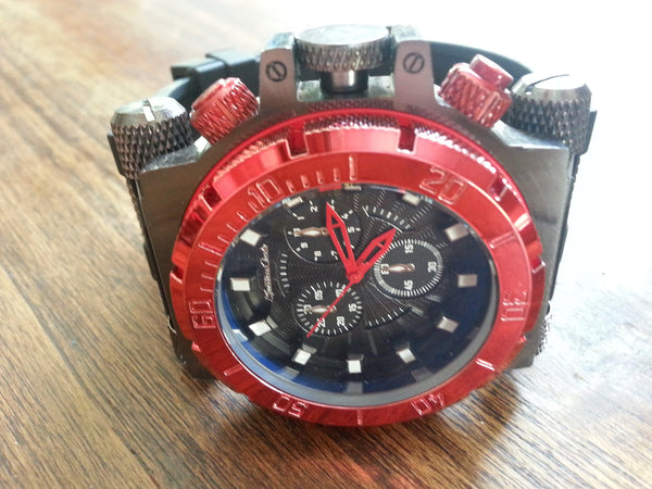 Watch - Red Diver
