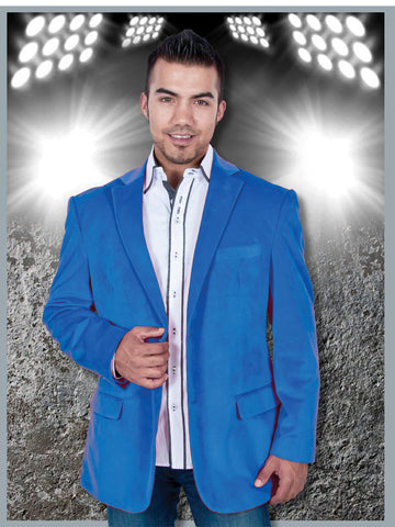 Suit - Royal Blue Velvet