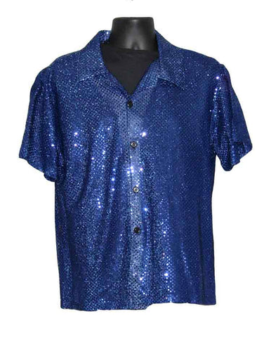 Sequin-Navy Blue