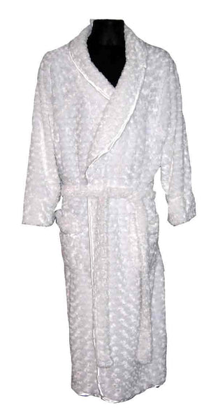 Rosebud-White Robe