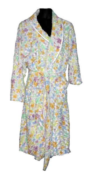 Rosebud-Multi Color Fur Robe