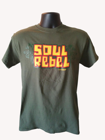 T-Shirt Soul Rebel Army Green