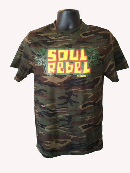 T-Shirt Soul Rebel Camo