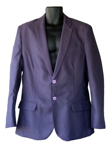 Suit Purple Shark Scale