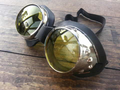 Steam Punk Goggles Yellow