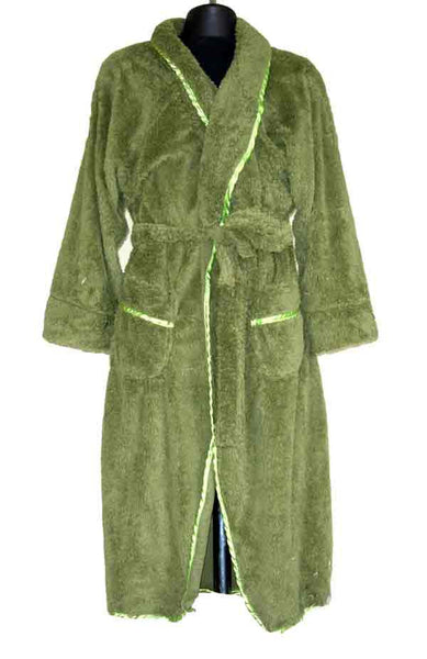 Terry-Green Robe