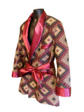 "The ""Royal"" Hef Smoking Robe"