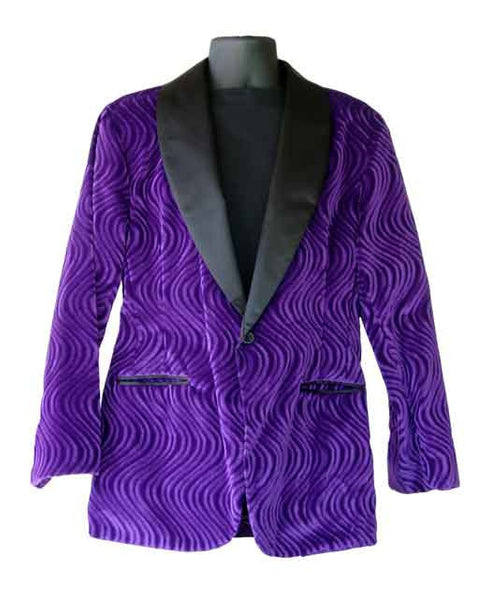 Wave, Purple Smoking Jacket