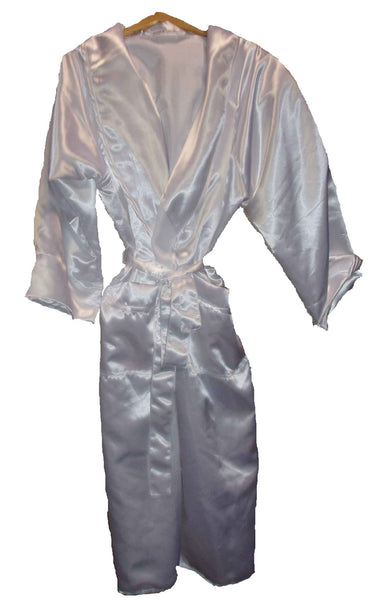 Satin-White Robe