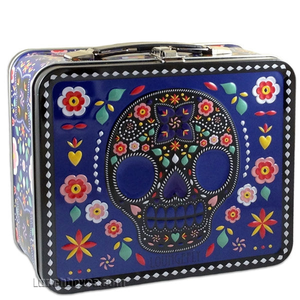 Lunchbox - Blue Day of the Dead