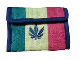 100% Hemp Rasta Wallet