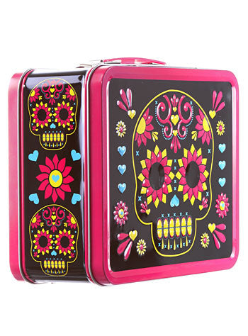 Lunchbox - Pink Day Of The Dead