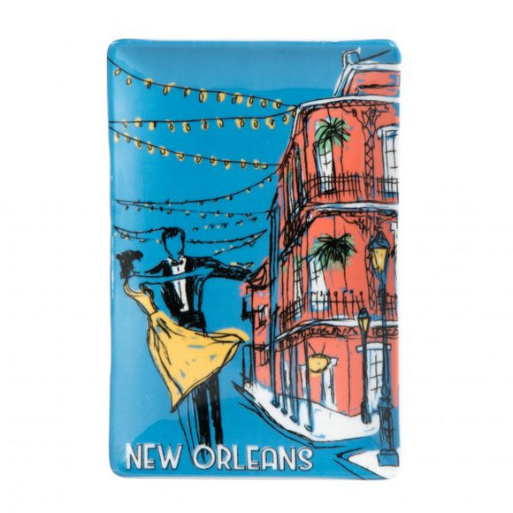 Romantic New Orleans Trinket Tray