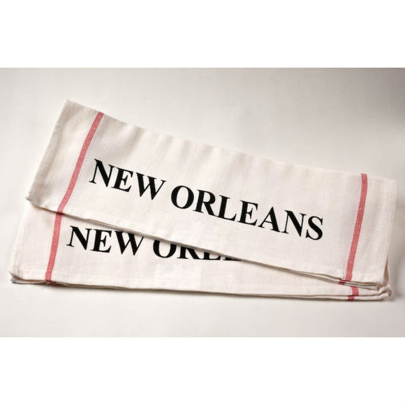New Orleans Flour Sack Towel
