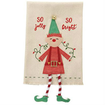 Elf Dangle Towel