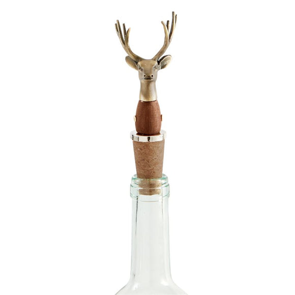 Deer Bust Bottle Topper