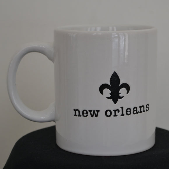 New Orleans/French Quarter Typewriter Mug