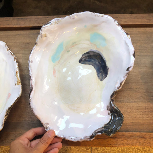 Large Oyster Dish Bowl