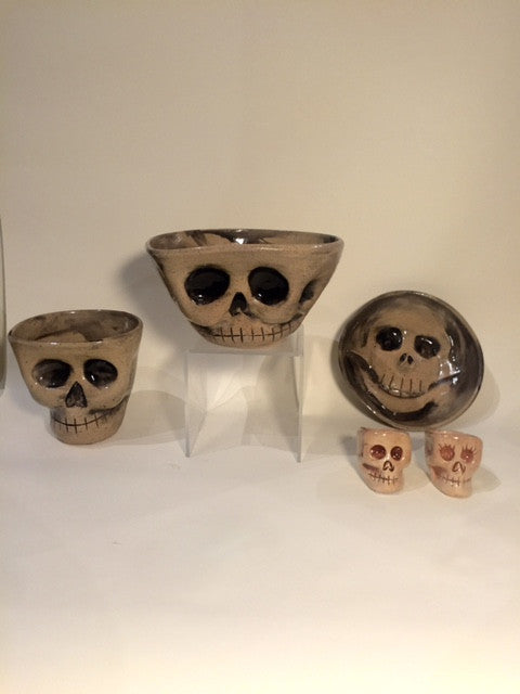 Skull Bowl. This is the larger size. Great for soups and salads!
