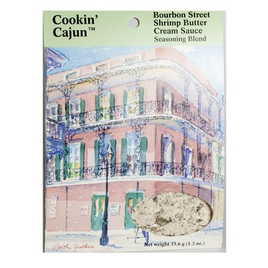 Cookin' Cajun Bourbon St. Shrimp Butter Cream Spice Pack