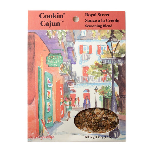 Cookin' Cajun Royal Street Creole Sauce Spice Mix
