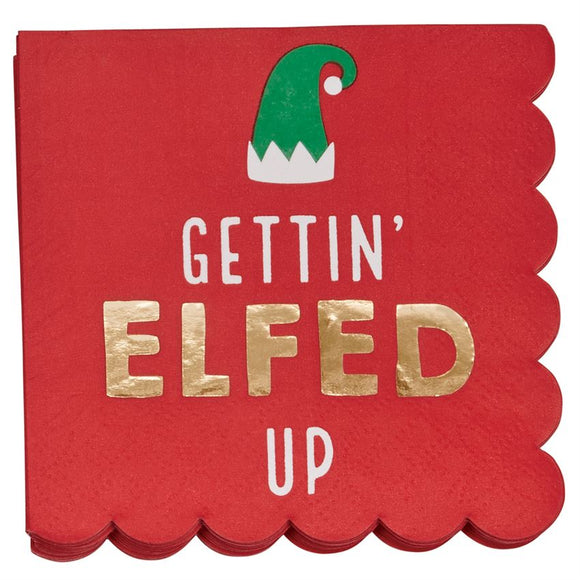 Christmas Elf Napkin