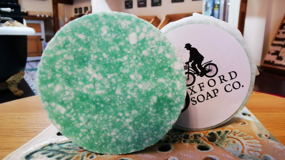 Shampoo Bar - Peppermint & Eucalyptus
