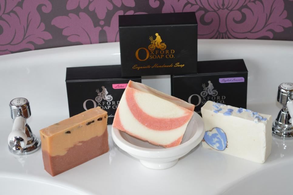 Our soaps are all handcrafted, each one is completely unique.