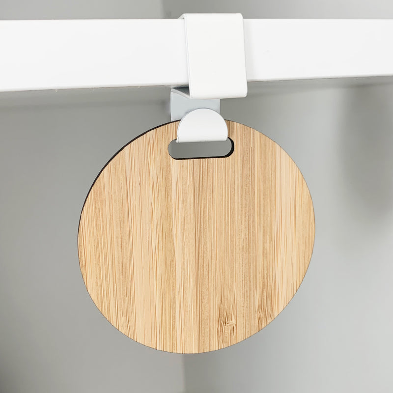 Shelf Hook & Tag (without label)